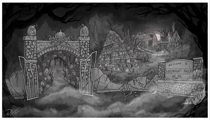 Midnight Falls Haunted Hayride