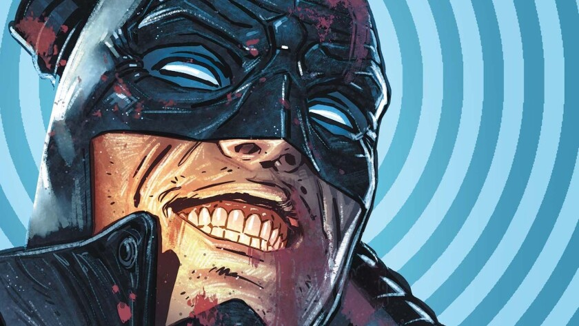 """""""Midnighter"""" No. 1, written by Steve Orlando with art by Aco, debuts today. It is the first DC Comics title headlined by a gay male superhero."""