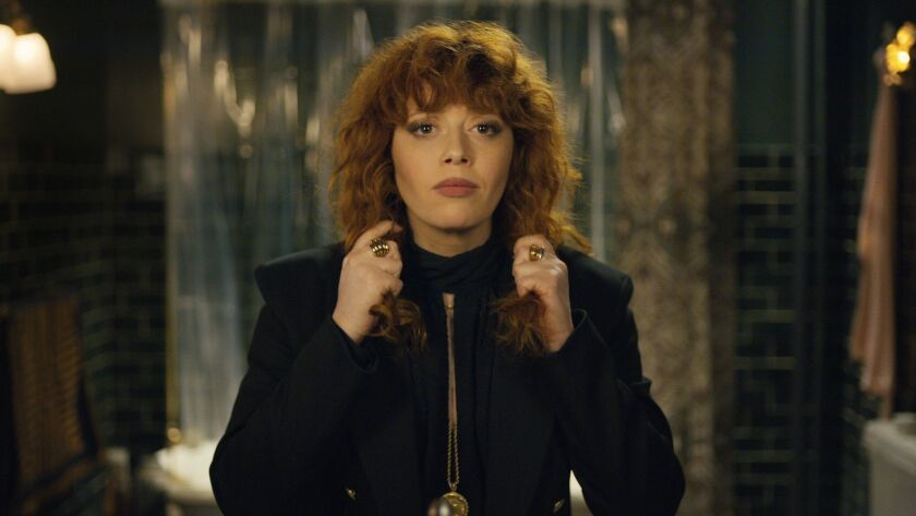 """Natasha Lyonne plays Nadia, a woman who repeatedly dies and returns on her 36th birthday, in the Netflix series """"Russian Doll."""""""