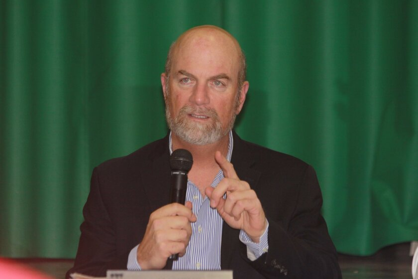 La Jolla Town Council president Steve Haskins