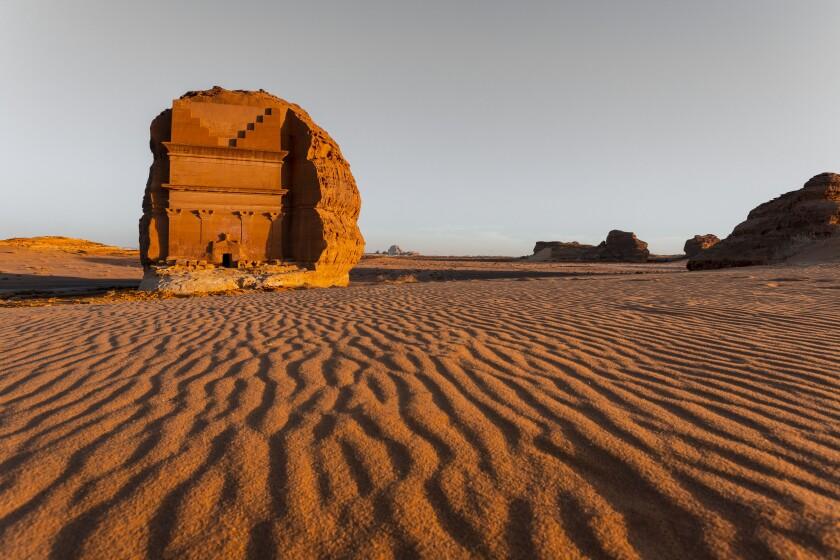 Qasr al-Farid at the UNESCO World Heritage Site of Hegra.