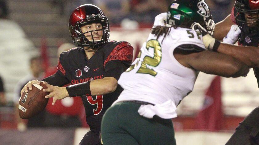 San Diego State junior quarterback Ryan Agnew will make his first collegiate start on Saturday night against No. 23 Arizona State.