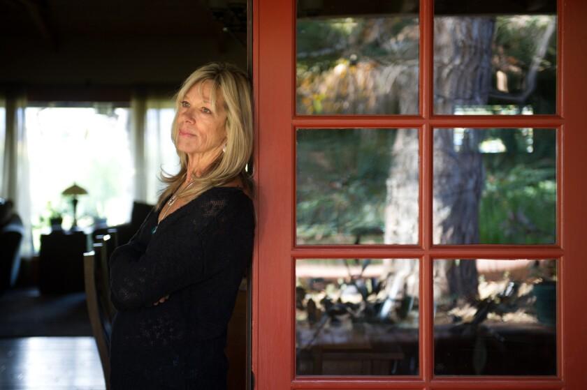 Cally Houck in her Ojai home