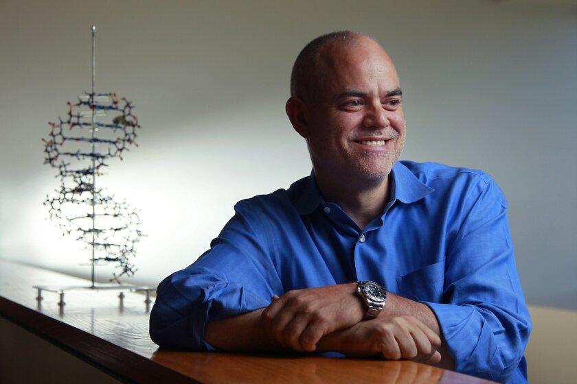 Scripps Research professor Floyd Romesberg.