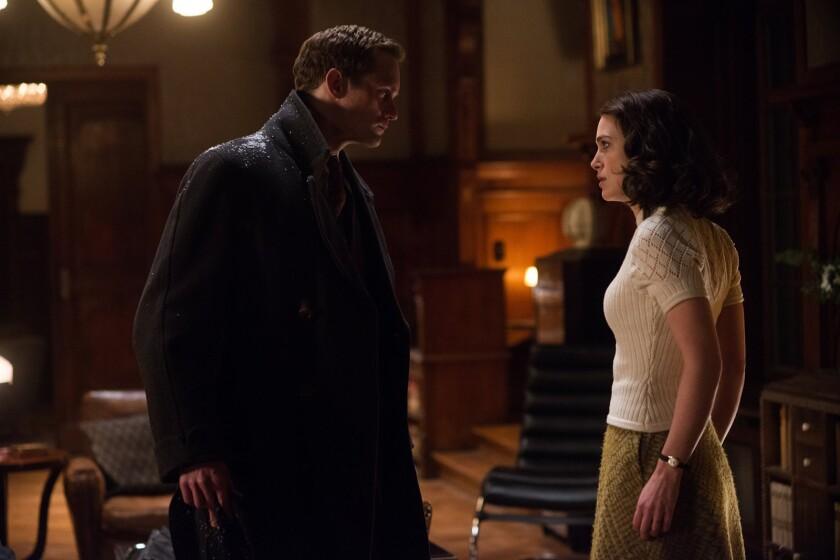 "Alexander Skarsgard and Keira Knightley in ""The Aftermath"""