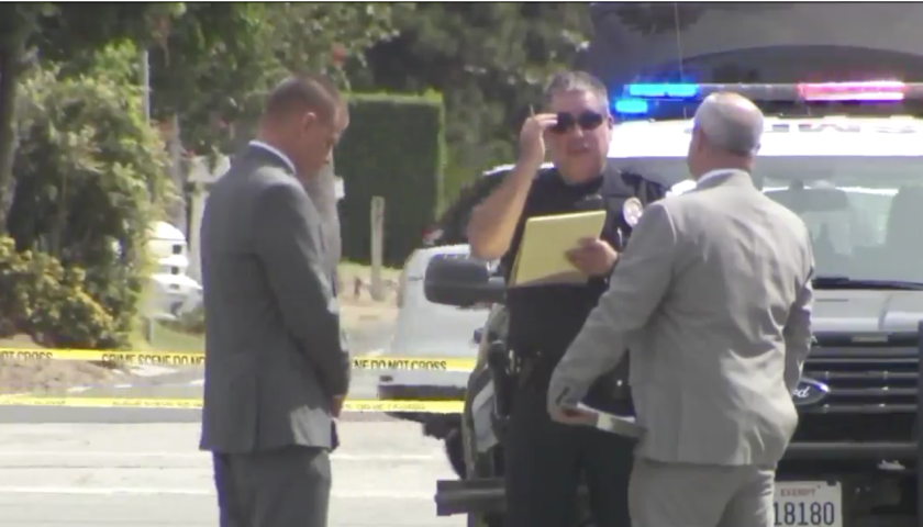 San Marino police investigate incident that left an off-duty officer with a self-inflicted gunshot wound.