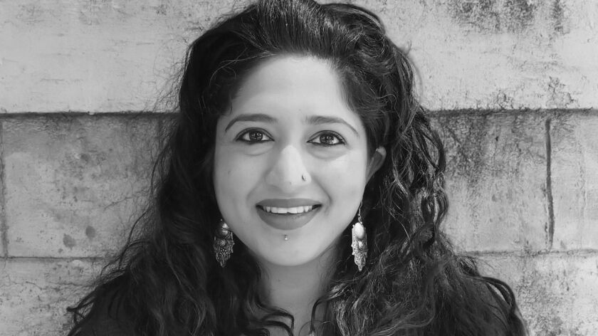 "Rheea Mukherjee, author of the book ""The Body Myth."""