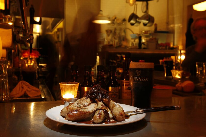 Jaynes Gastropub, which features traditional pub fare like bangers and mash as well as creative global dishes, is a longtime local favorite.
