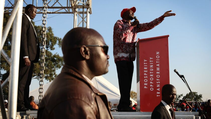 Zimbabwe Political Parties Hold Final Rallies Before The General Election