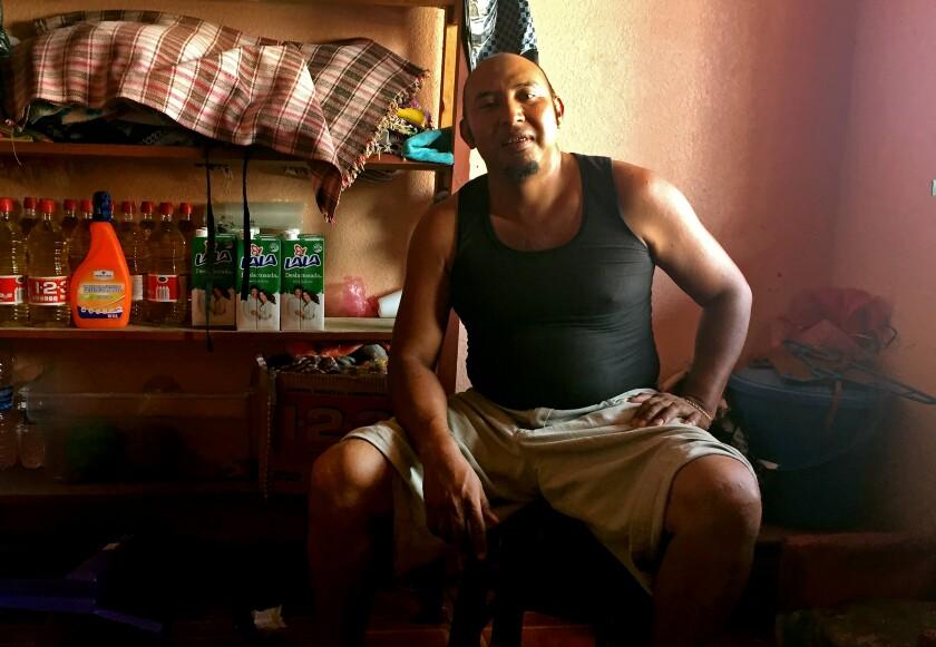 Marvin Hernandez Jorge, mayor of Gracias a Dios, Guatemala