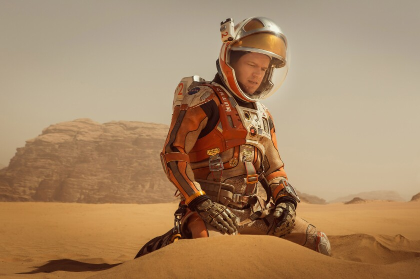 'The Martian' wins Golden Globe for best picture comedy