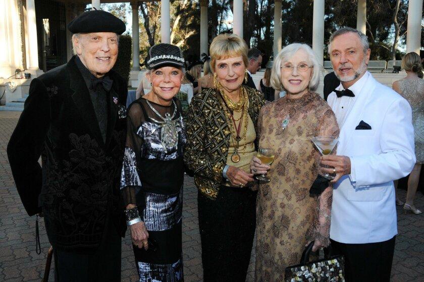 Don Breitenberg, Jeanne Jones, Barbara McColl, Armi and Al Williams