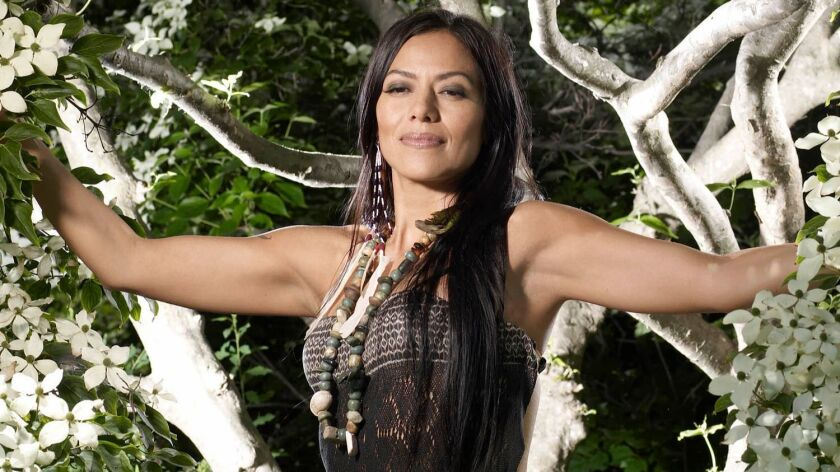 The daughter of a Mexican mother and American father, Lila Downs embraces her multiculturalism.