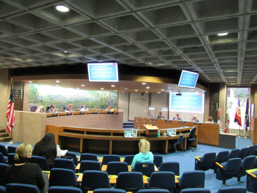 El Cajon City Council discusses its $34 million in federal relief funds during the first in-person meeting in over a year.