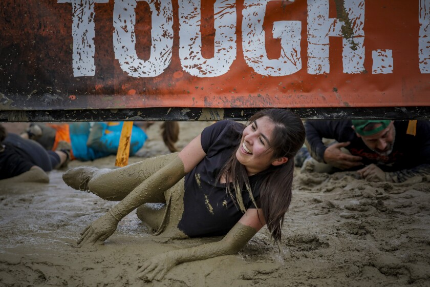 Audrey D'Antonio at Tough Mudder