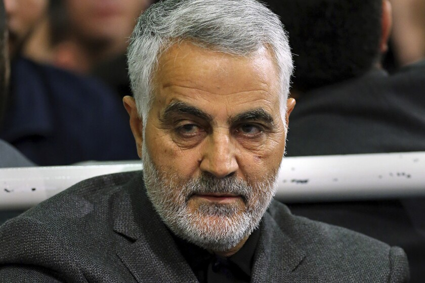 Gen. Qassem Suleimani, a high-ranking Iranian official, was killed Friday by a U.S. airstrike in Baghdad.