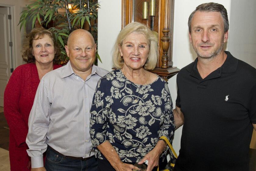 Karyl Kerulis, David Tarson, Shirlee and Michael Miller