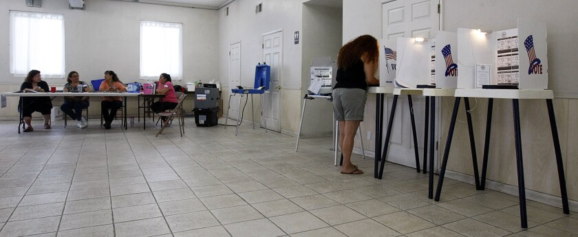 Lawmaker has solution to low voter turnout in Los Angeles