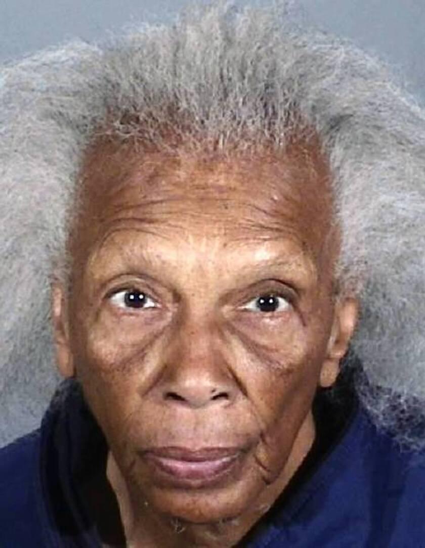 Doris Thompson, in booking photo, is accused of burglarizing doctors' offices.