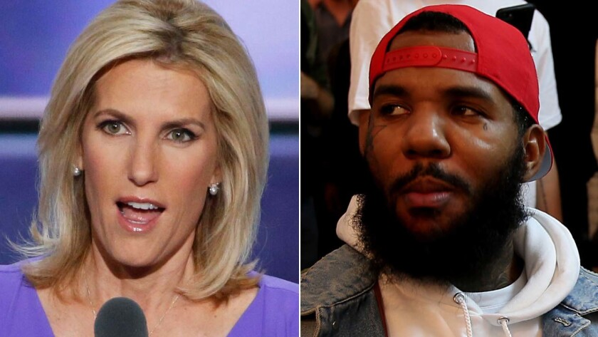 The Game, Snoop Dogg push for Laura Ingraham's firing after Nipsey