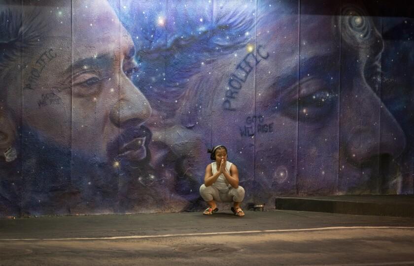 Nipsey Hussle mural