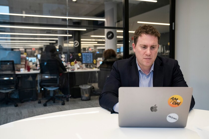 BuzzFeed News Editor in Chief Ben Smith in 2018
