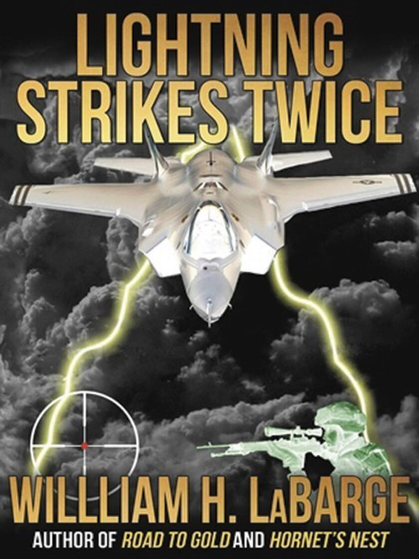 'Lightning Strikes Twice' is the latest book by La Jollan William 'Sweetwater Willie' LaBarge Courtesy Photos