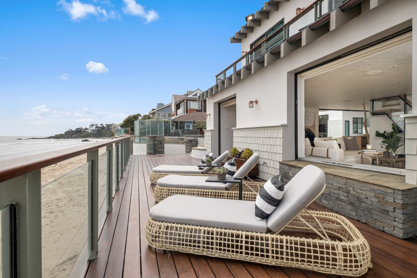 Television executive Kevin Bright's Broad Beach compound features three homes.
