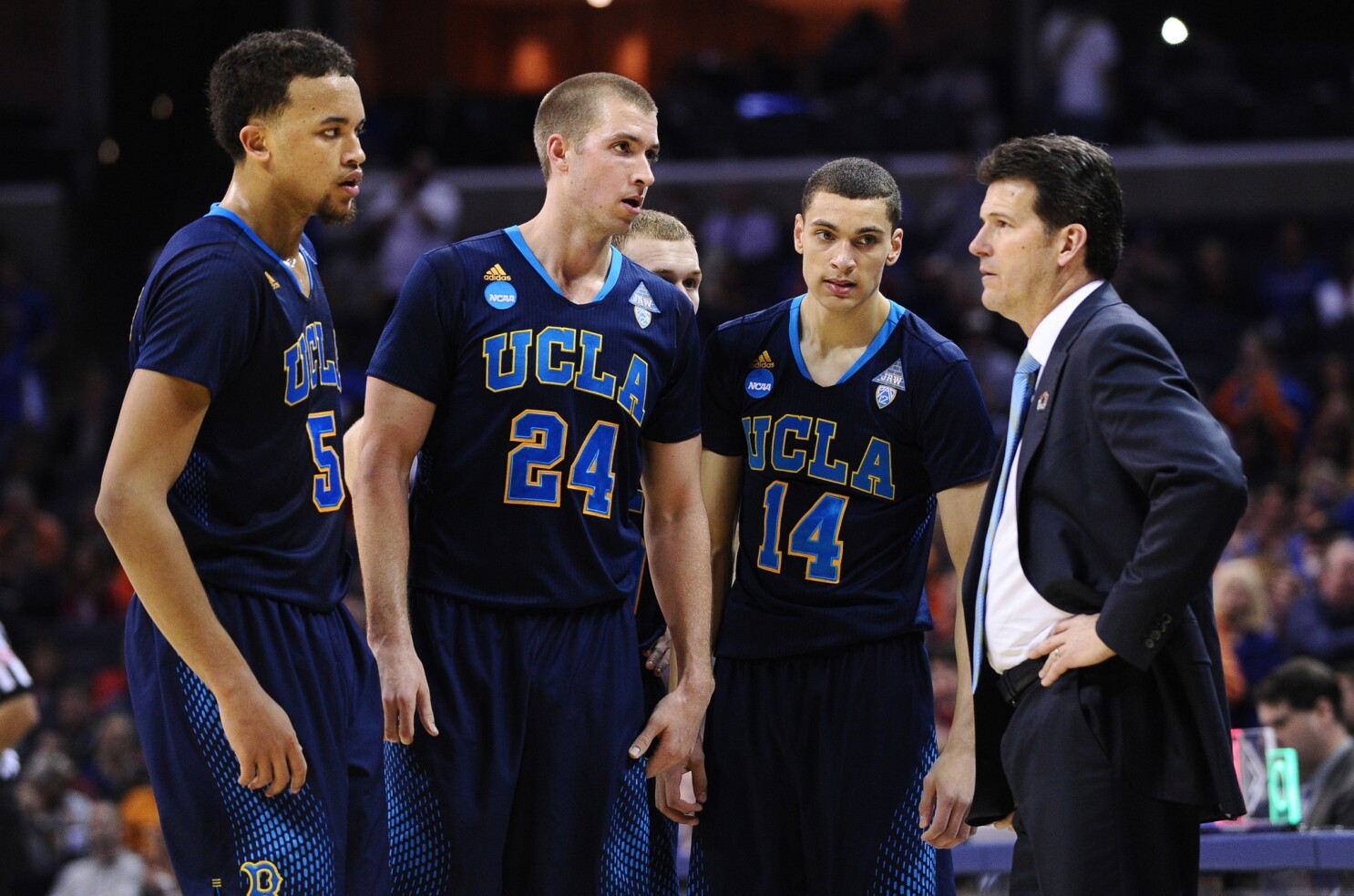 new product 9fbaa f5acb UCLA's Kyle Anderson, Zach LaVine formally announce for NBA ...