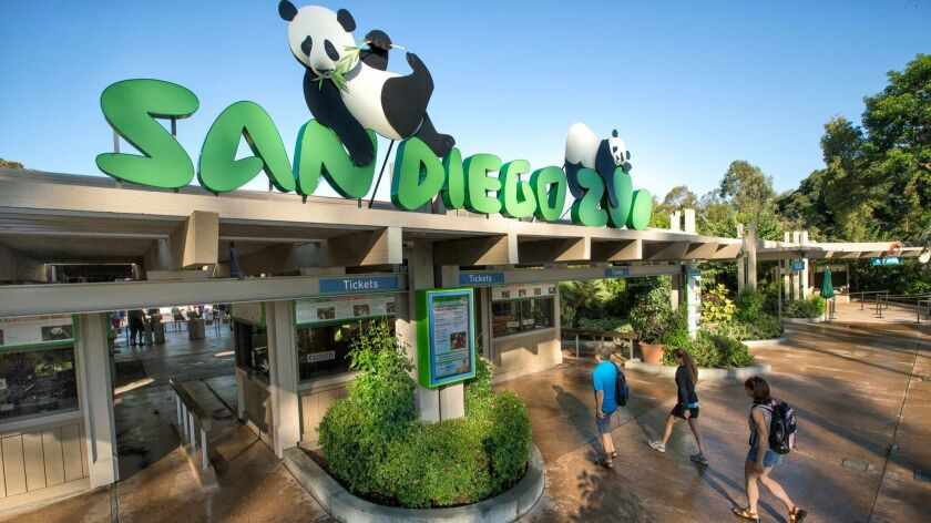 Three workers were hurt in a construction accident at the San Diego Zoo on Thursday morning.
