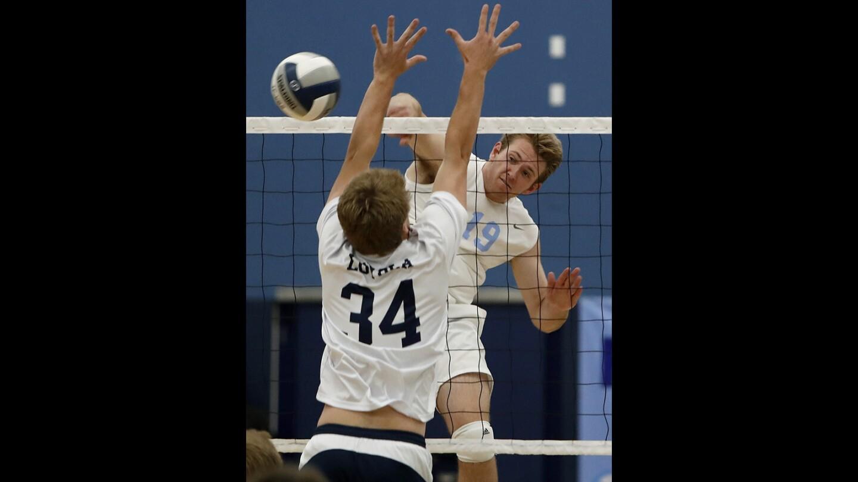 Photo Gallery: Corona del Mar vs. Loyola in volleyball