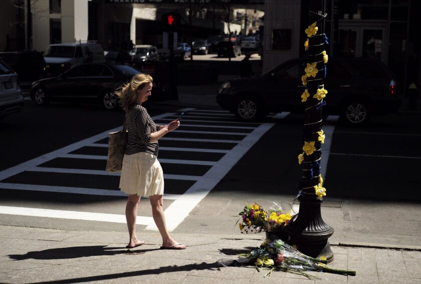 Second anniversary of Boston Marathon bombing