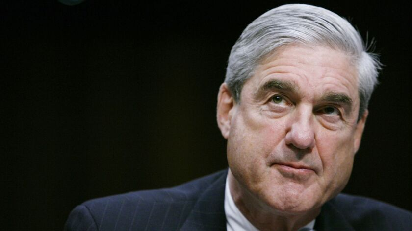 Special Counsel Robert S. Mueller III on February 16, 2011.