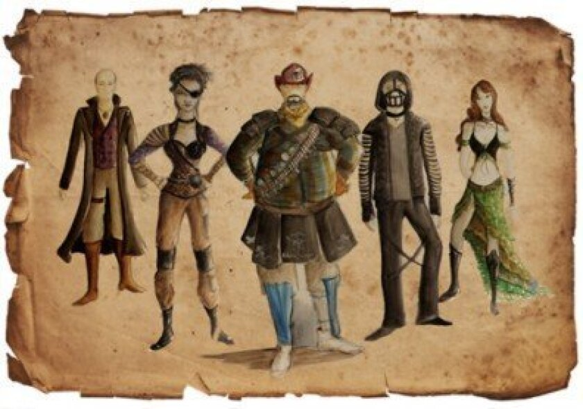 'El Henry' costume designs