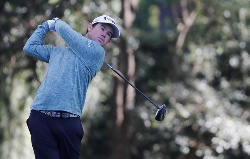En la imagen, el golfista estadounidense Brian Harman. EFE/Archivo