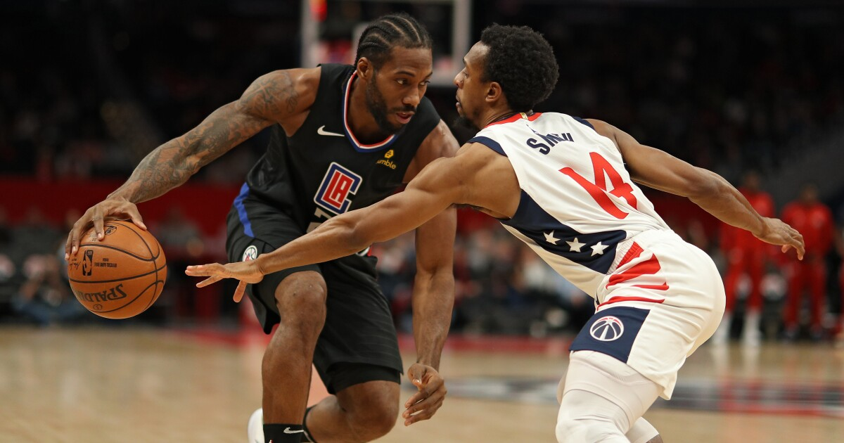 Kawhi Leonard and Paul George are too much for Wizards in Clippers victory