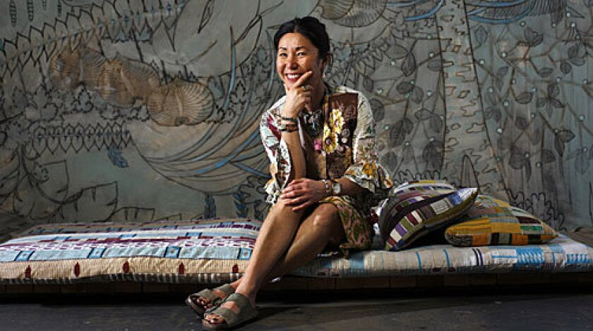 CHRISTINA KIM: The designer says her imagination is spurred by the discipline of working with finite resources.