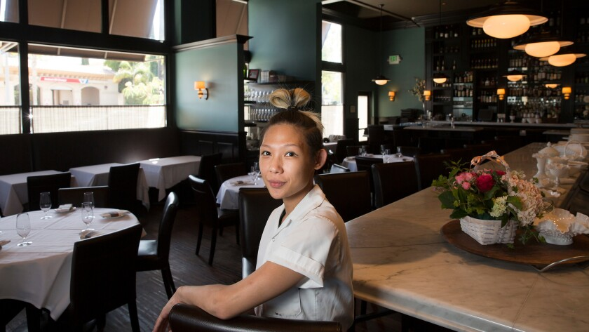 Osteria Mozza executive chef Liz Hong began at the Melrose Avenue restaurant as a culinary school extern.