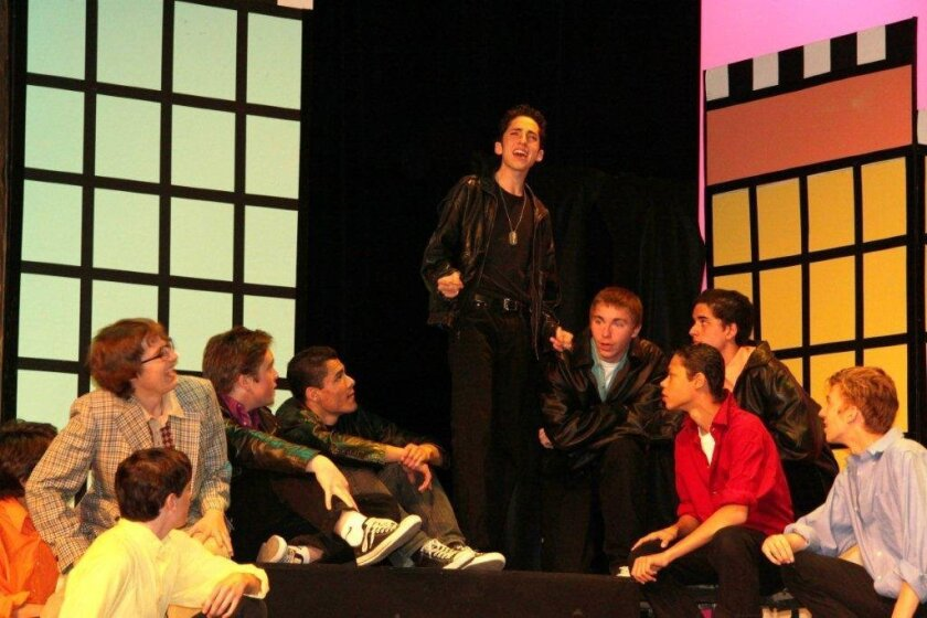 La Jolla High drama department presents Grease this weekend.