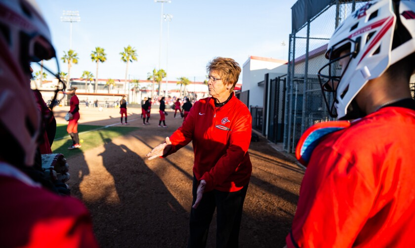 Kathy Van Wyk, who reach the 800-win milestone this season, retires as the Mountain West's winningest coach.