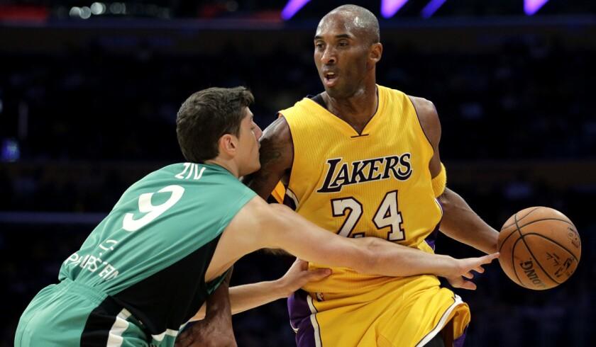 Kobe Bryant, Yiftach Ziv