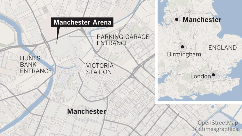 Explosion at Manchester Arena