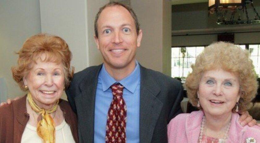 Mary Humphrey, Assemblyman Brian Maienschein, Jody Bray