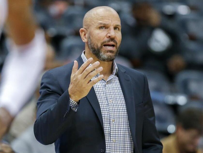 Kidd, de 44 años, apenas se retiró como jugador con los Nets de Nueva Jersey, comenzó a entrenar en el 2013-14 y su marca global como profesional es de 183 triunfos y 190 derrotas. EFE/Archivo
