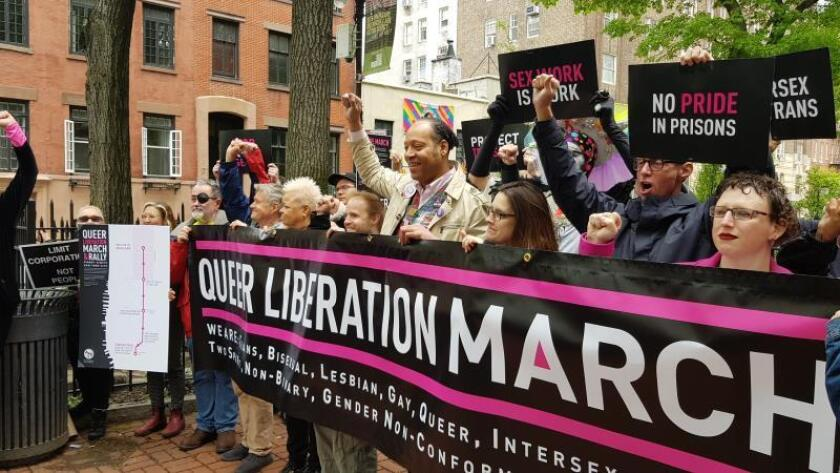 La marcha alternativa del Orgullo Gay de Nueva York reivindica su protesta