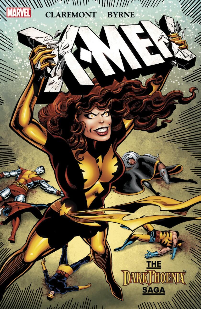Marvel Comic Book by Chris Claremont and John Byrne. X-Men, The Dark Phoenix Saga. Courtesy of Marv