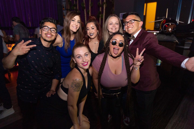 TJR spun for the crowd at Parq nightclub on Saturday, June 8, 2019.