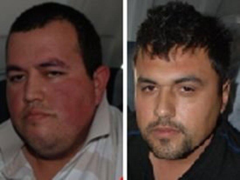 José Manuel García Simental and Raydel López Uriarte.