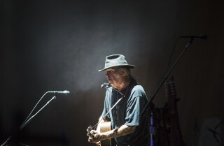 Neil Young at Desert Trip