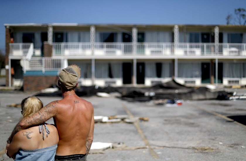 Death count rises as Florida officials deal with the aftermath of Hurricane Michael